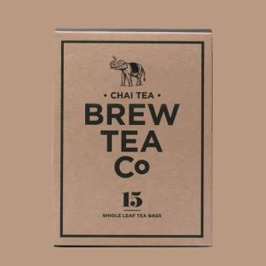 【Chai Tea】 まさにチャイの中のチャイ。 力強いスパイスとカフェインは、とりこになってしまう...