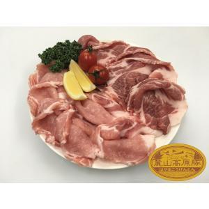 ブランド豚 麓山高原豚 国産 豚 生姜焼き セット 3~4人前 (800g) 肩ロース ロース|029yasan