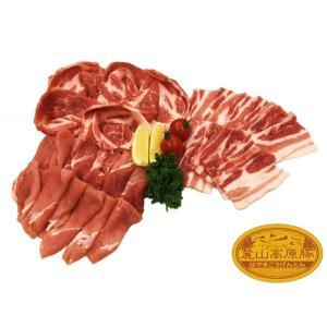 ブランド豚 焼肉 BBQ セット 【 麓山高原豚 】 焼肉 Aセット 4~6人前 (1.8kg)|029yasan