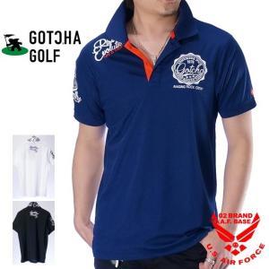 メンズ GOTCHA GOLF 192gg1202 半袖ポロシャツ ガッチャゴルフ