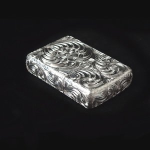 7CROSS zippo カスタムジッポー(ハンドメイド6面手彫り) 銀製(スターリングシルバー 925)|06xy