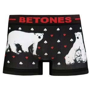 BETONES ビトーンズ ボクサーパンツ 下着 アンダーウェアANIMAL4-D004-1 ベアー|06xy