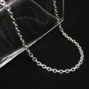 あずきチェーン シルバーチェーン 太さ約2.8mm 長さ70cm  ネックレス 小豆 あずき|06xy