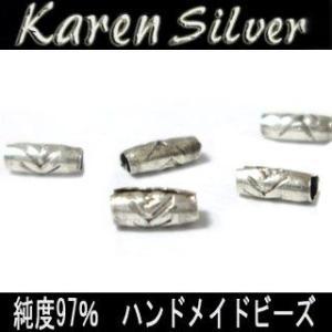 カレン シルバー ビーズ アクセサリー パーツ お得な5個セット k0027|06xy