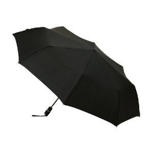 折りたたみ傘 knirps クニルプス Big DuomaticSafety ワンタッチ 開閉式 ブラック|06xy