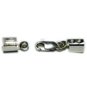 留め具/クラスプ(スターリング シルバー925)(2.0mm 3.0mm 編込み3.3mmn)などに使用可能。|06xy
