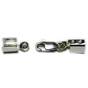 留め具/かしめ+クラスプタイプ(2.0mm〜2.5mm用)silver925|06xy