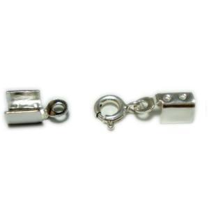 留め具/かしめ+引き輪タイプ(2.0mm〜2.5mm用)silver925|06xy