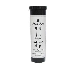 シルバー磨き洗浄液クリーナー アンクルビルシルバーディップ液体洗浄剤500ml|06xy
