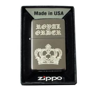 ロイヤルオーダー Zippo ジッポライター 限定生産品|06xy