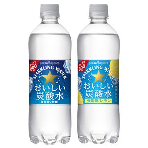 ポッカサッポロ 2種類の中から選べる国産天然水 炭酸水 おい...
