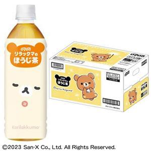 ダイドー リラックマのほうじ茶 PET 500ml×24本入 焙じ茶/飲料の商品画像|ナビ