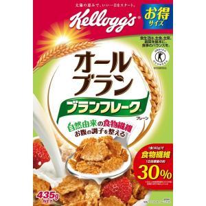 ケロッグ オールブラン ブランフレーク・プレーン 徳用箱 435g×8箱入(食品)