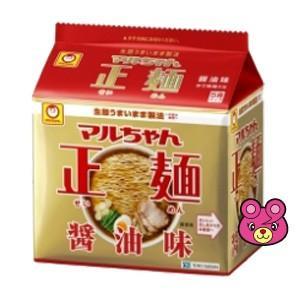 東洋水産 マルちゃん正麺 醤油味 5食パック×6個入 /食品|09shop
