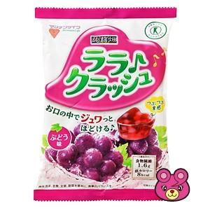 マンナンライフ 蒟蒻畑 ララクラッシュ ぶどう味 8個入×12袋入 /食品|09shop
