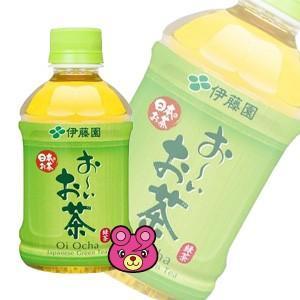 伊藤園 お〜いお茶 緑茶 PET280ml×24本入(飲料)
