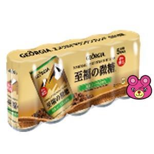 コカ・コーラ(コカコーラ)ジョージアエメラルドマウンテンブレンド至福の微糖缶185g×5本入×6パック(飲料)
