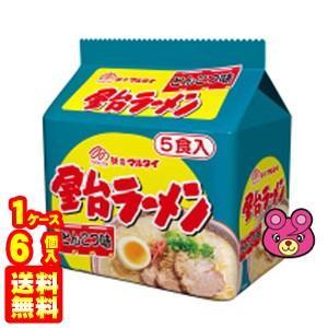 マルタイ 屋台ラーメンとんこつ味 5食入×6個入り/箱 /食品|09shop