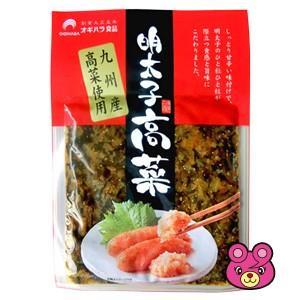 .メール便/オギハラ食品 明太子高菜 80g×4袋セット/郵...