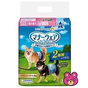 ユニチャーム マナーウェア 男の子用 SSS サイズ 超小型犬用 52枚×8個入 /ケース/ペット/HK|09shop
