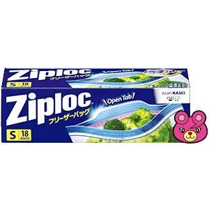 シモジマ 食品用保存袋 ZL フリーザーバッグ S 18枚入 1本×1セットの商品画像|ナビ