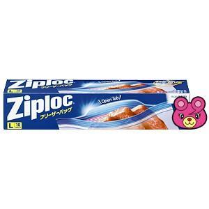 シモジマ 食品用保存袋 ZL フリーザーバッグ L 10枚入 1本×1セットの商品画像 ナビ