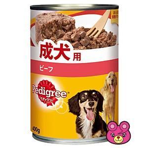 ペディグリー 成犬用 旨みビーフ 缶400g×24個入(/ケース)(ペット)(HK)|09shop