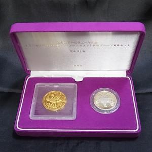 天皇陛下 御在位30年記念 1万円 金貨幣 500円バイカラー・クラッド貨幣 プルーフ貨幣セット 平成31年