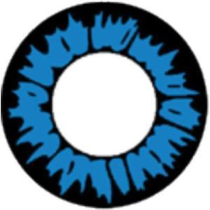 WILD BLUE 度なし DIA14.0mm ブルーコンタクトフィルム|1-d-royal