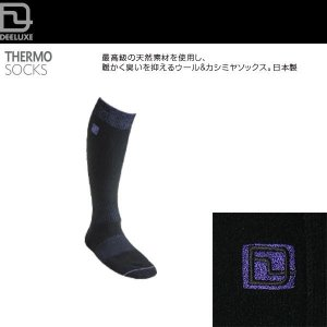 14-15DEELUXE【THERMO SOCKS/BLACK】サーモソックス