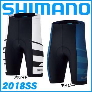 5f53012505149f 2018春夏 SHIMANO チーム ショーツ パンツ サイクルウェア メンズ ロードバイク サイクリングウェア シマノ