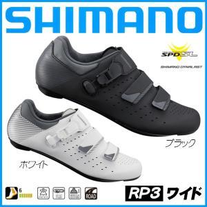 SHIMANO シマノ RP3 ワイドタイプ SPD-SL ビンディングシューズ メンズ サイクルシ...