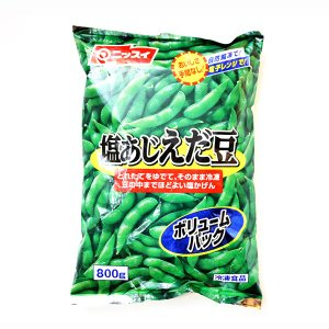 そのまま解凍するだけで召しあがれる、緑鮮やかな塩あじつきのえだ豆です。 獲れたてのえだ豆をゆでて冷凍...