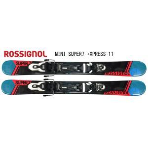 【ROSSIGNOL】2017 MINI SUPER7 99 ロシニョールショートスキー(99cm)+LOOK XPRESS 11 ビンディング付き 送料サービス!   ロシニョール|1001shopping