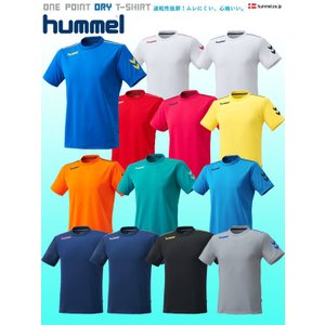 hummel ワンポイント ドライTシャツ/HAY2078 ヒュンメル|1001shopping