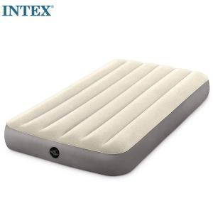 INTEX/デュラビームハイエアーベッド シングル/U-64101|1001shopping