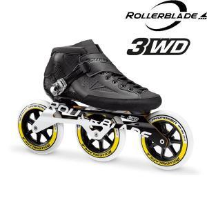 2017ROLLERBLADE POWERBLADE 125 3WD/BLACK-WHITE 27.5cmローラーブレードインラインスケート|1001shopping