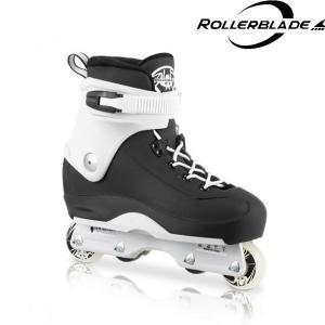 2017ROLLERBLADE SWINDLER/BLACK-WHITE ローラーブレードインラインスケート
