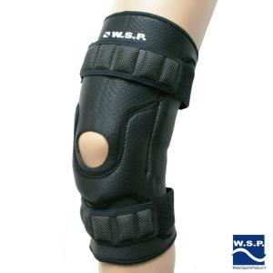 膝サポーター ウォータースポーツ専用 W.S.P. GR10 NJB ブラック 膝 有穴ウェット素材 膝の両側にヒンジ入り 膝をサポート サーフィン