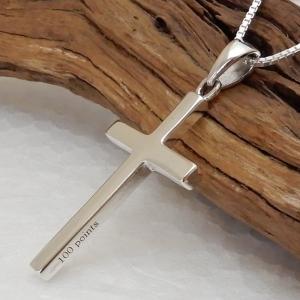 クロス ネックレス メンズ シルバー925 十字架ネックレス シルバーネックレス  ペンダント シン...