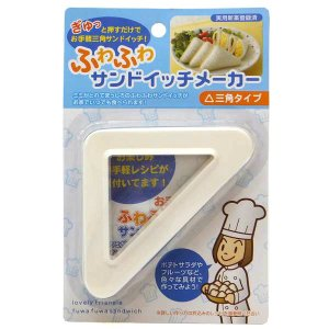 ■ミミがとれて、まっしろのふわふわ三角サンドイッチがお家でいつでも食べられます! ポテトサラダやフル...
