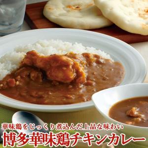 カレー 博多華味鳥チキンカレー4種&鶏屋ハンバーグカレー 食...