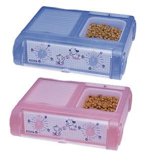 ヤマサ YAMASA ペット用自動給餌機 わんにゃんぐるめ CD-400|1096dog
