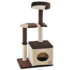 アドメイト [Add.Mate]キャットタワー 猫タワー 猫のおあそびポールお魚ファミリーミドルタイ...