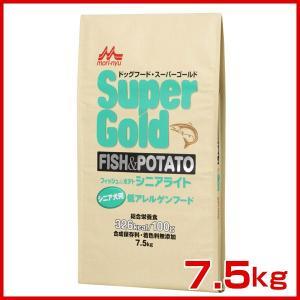 スーパーゴールド フィッシュ&ポテト シニアライト 7.5kg JAN:4978007004627 / 森乳サンワールド [正規品] #w-120171