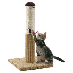 マルカン どこでも爪とぎタワー CT-265 猫 爪研ぎ ポール つめとぎ #w-131509|1096dog