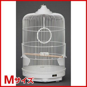 ジービー 鳥用ケージ 丸カゴM 4963065030893|1096dog