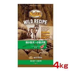 ニュートロジャパン ワイルド レシピ 成犬用 ラム 4kg 4562358788611 #w-147...