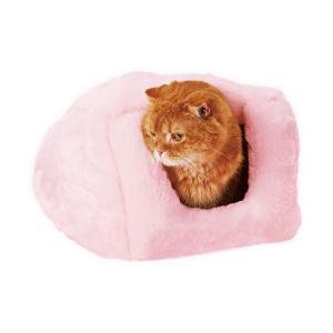 やわらかベッド もぐりこみタイプ 猫用 犬用