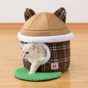 お庭つき猫ハウス ブラウン